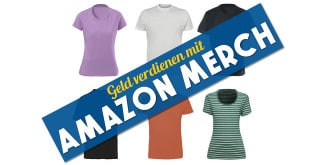 Merch by Amazon: Neuer Konkurrent für Teezily, Seedshirt, Teespring, Fabrily & Spreadshirt?