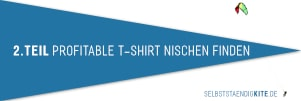 1. Teil Merch By Amazon Tutorial